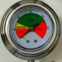 Regulador com Registro de Gás com Manômetro Aliança