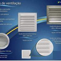 Grade de Ventilação de Alumínio