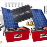 Kit de Energia Solar 300Wp