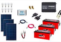 Kit de Energia Solar 450Wp