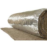 Lã de Rocha Aluminizada 25mm Rockfibras