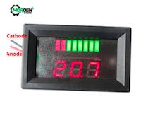 Monitor de Carga 12V